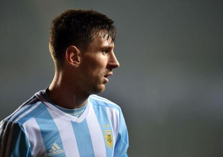 Messi, na semifinal da Copa América contra o Paraguai.