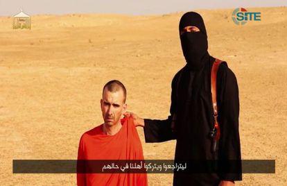 David Haines aparecia no vídeo da execução do jornalista Sotloff.