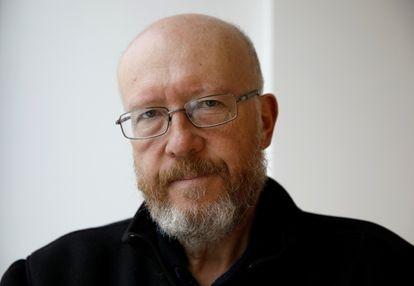 O historiador Jan Grabowski, fotografado em Varsóvia na segunda-feira.