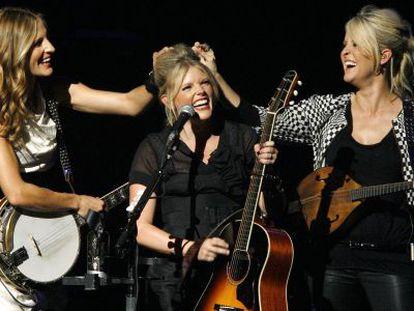O trio texano de música country Dixie Chicks em outubro de 2007.