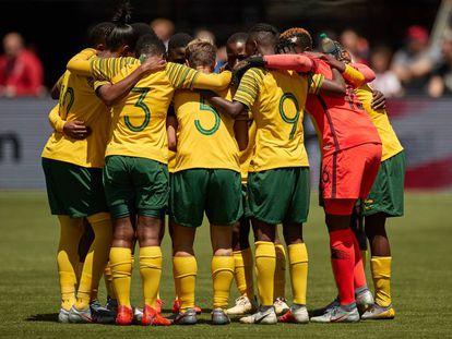 Seleção sul-africana fez contra a Alemanha sua última partida na Copa feminina.