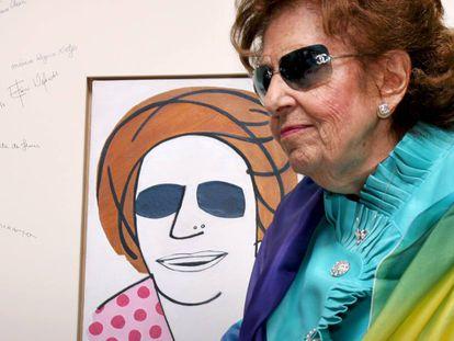 A educadora Dorina Nowill, em uma imagem de arquivo.