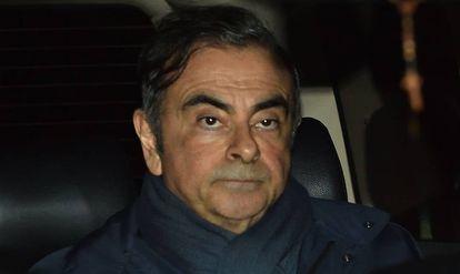 Carlos Ghosn, numa imagem de abril passado, em Tóquio (Japão).