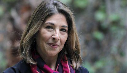 A jornalista, escritora e ativista canadense Naomi Klein, em Barcelona.