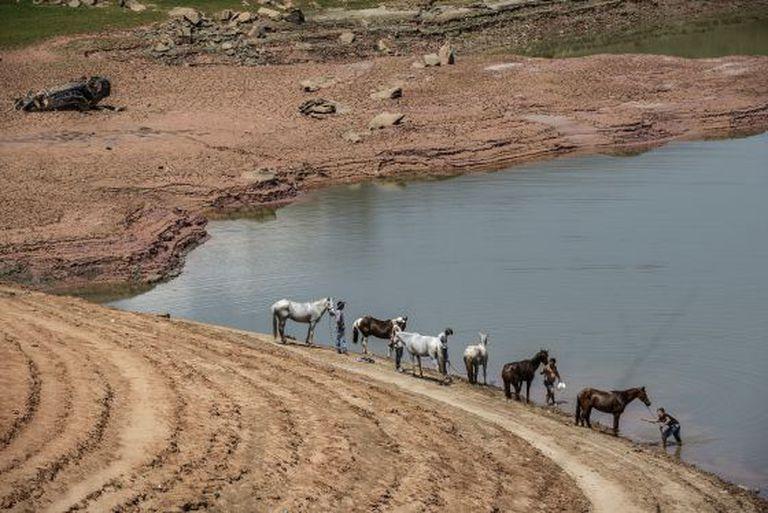 Represa de Jaguari, em São José dos Campos (SP).