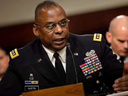 Lloyd Austin no Senado, em uma imagem de 2016.