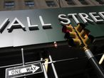 Imagen de un edificio en Wall Street, Nueva York.