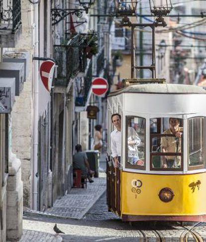 O prefeito de Lisboa, Fernando Medina.
