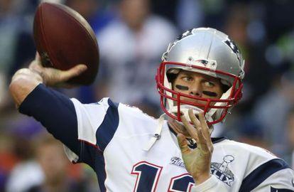 O quarterback Tom Brady.