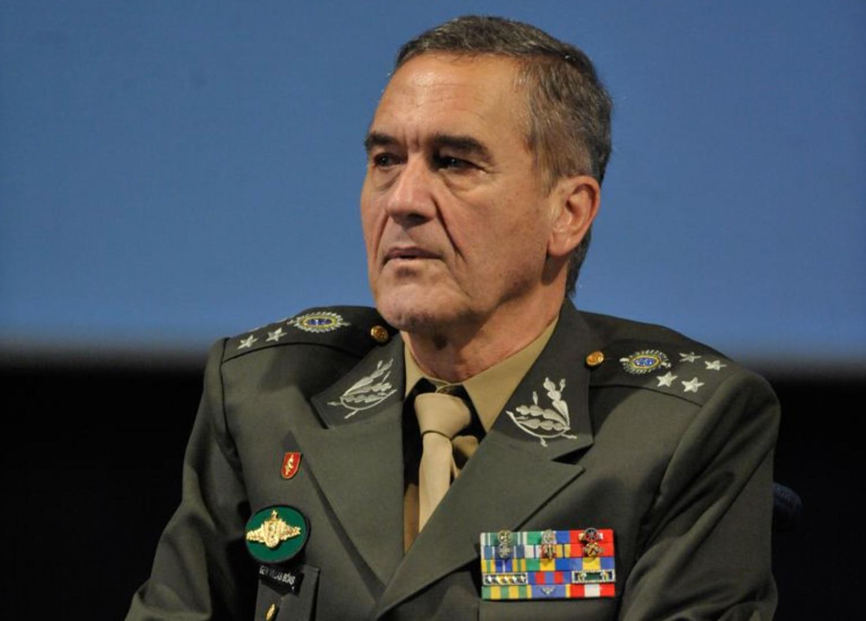 Então comandante do Exército, o general Eduardo Villas Bôas participa da abertura do seminário internacional sobre os 25 anos da AGU, em 2018.