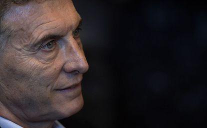 O presidente argentino, Mauricio Macri, nesta semana.