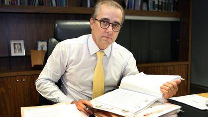 O ministro Admar Gonzaga, em imagem de setembro.