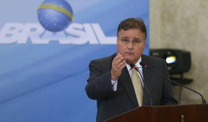 O ex-ministro Geddel Vieira Lima em evento do Governo.