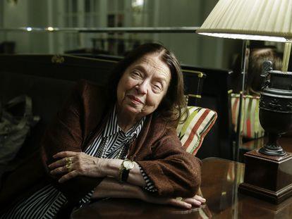 A escritora Nélida Piñón em Madri, em 2019.