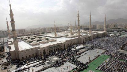 A Mesquita do Profeta, em foto de 2007.
