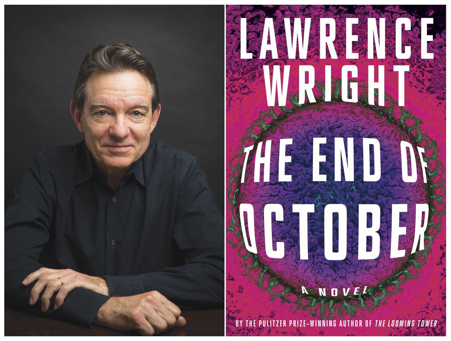 """Lawrence Wright, autor do livro """"The End of October"""""""