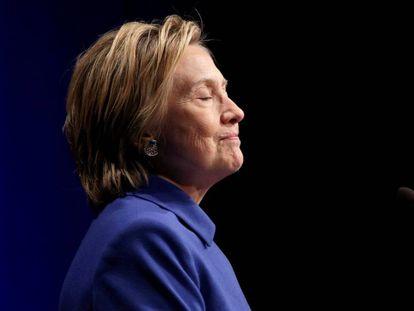 Hillary Clinton, durante um evento em Washington em 16 de novembro.