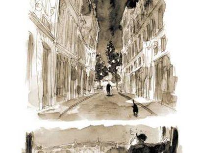 Um desenho de 'La Divina Comedia de Oscar Wilde'.