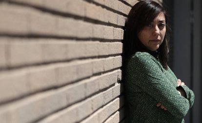 Claudia Larraguibel nesta semana em Madri.