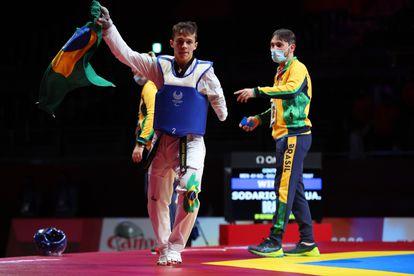 Nathan ganhou um ouro inédito para o Brasil.
