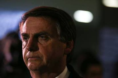 O deputado Jair Bolsonaro.