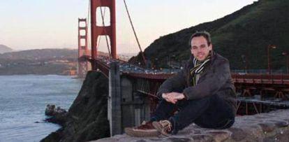 Foto pessoal de Andreas Lubitz em San Francisco.