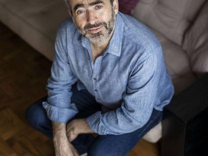 O filósofo Marcos Nobre, na sala de sua casa.