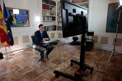 Pedro Sánchez, presidente do Governo da Espanha.