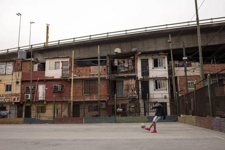 A Villa 31 de Buenos Aires, em uma foto de arquivo.