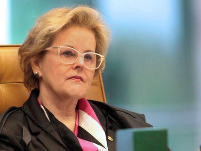 Ministra Rosa Weber, do Supremo Tribunal Federal.