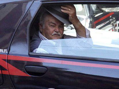 Um chefe da 'Ndrangheta preso em 2011.