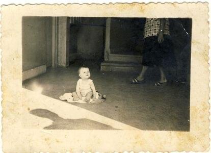 Foto da menina Begoña Urroz Ibarrola, assassinada em 27 de julho de 1960 na estação ferroviária de Amara (San Sebastián, norte da Espanha).