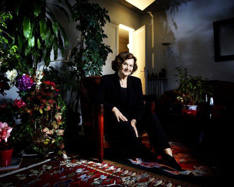 A historiadora e psicanalista francesa Élisabeth Roudinesco.