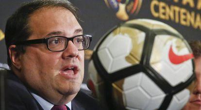 Victor Montagliani, presidente da CONCACAF