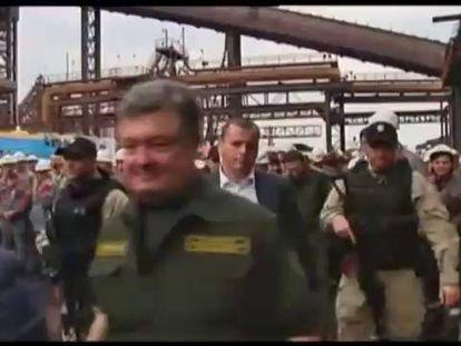 Poroshenko assegura que os rebeldes libertaram 1.200 prisioneiros de guerra