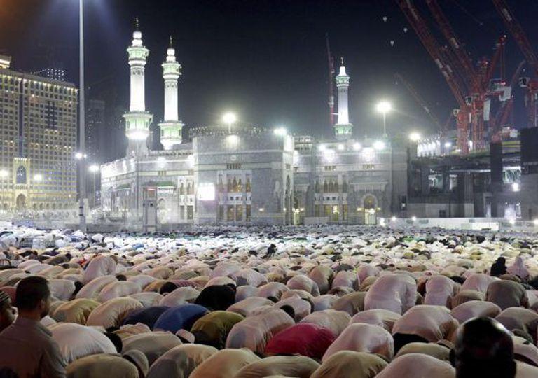 Peregrinos em Meca.