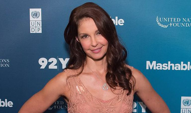 Ashley Judd no Social Good Summit, em Nova York.