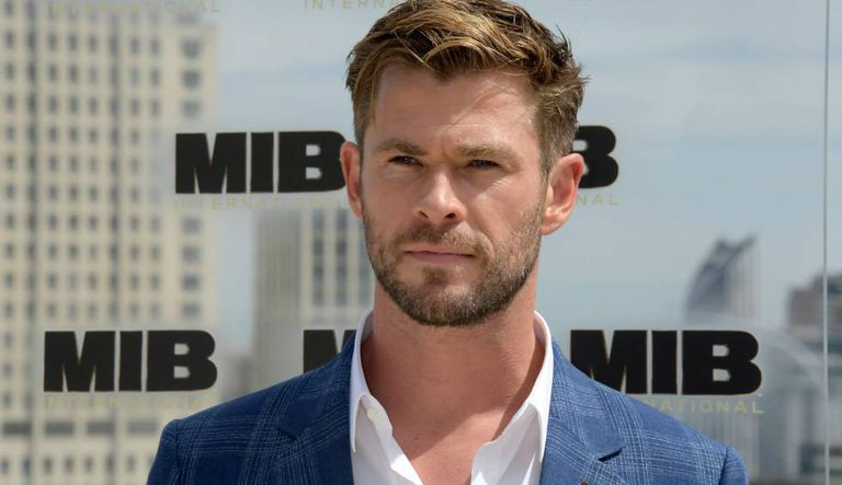 Chris Hemsworth, na apresentação de 'Men in Black', em Londres.