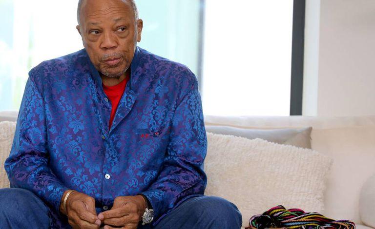O produtor e músico Quincy Jones.
