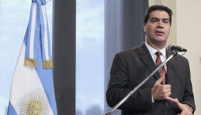 O chefe de Gabinete do Governo argentino, Jorge Capitanich.