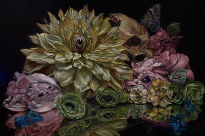 Tela do artista japonês Toru Kamei.