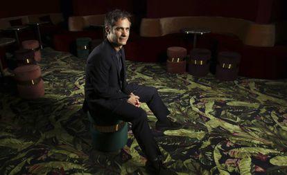 O ator e diretor Gael García Bernal nesta terça-feira em Cannes