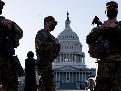 Imagem de arquivo do ataque ao Capitólio dos Estados Unidos em 6 de janeiro, em Washington.