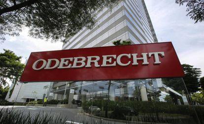 Sede da Odebrecht em São Paulo em dezembro de 2016.
