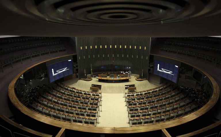 A Câmara dos Deputados cancelou as sessões agendadas para esta quarta.