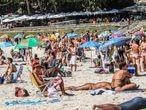 03/09/2020 Algunas de las principales playas de Río de Janeiro y Sao Paulo, los estados más afectados por la pandemia en Brasil, han vuelto a estar ocupadas por los bañistas una vez se ha iniciado la desescalada de las restricciones. SOCIEDAD SUDAMÉRICA BRASIL LATINOAMÉRICA INTERNACIONAL ELLAN LUSTOSA / ZUMA PRESS / CONTACTOPHOTO