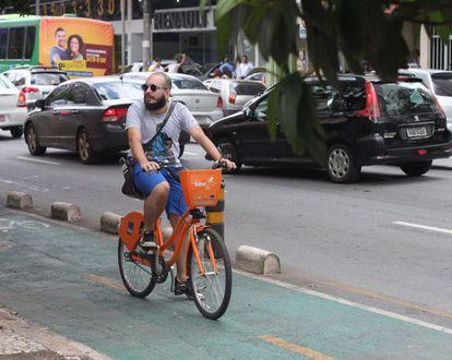 Projeto de lei quer criar curso de capacitação para ciclistas de BH.