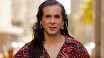 Duda Salabert, primeira candidata trans ao Senado