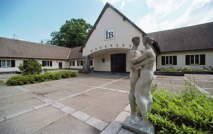 A vila de Bogensee, a 15 quilômetros de Berlim.