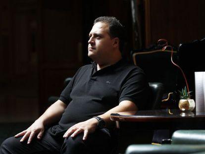 Juan Pablo Escobar, filho do traficante de drogas mais famoso do mundo.
